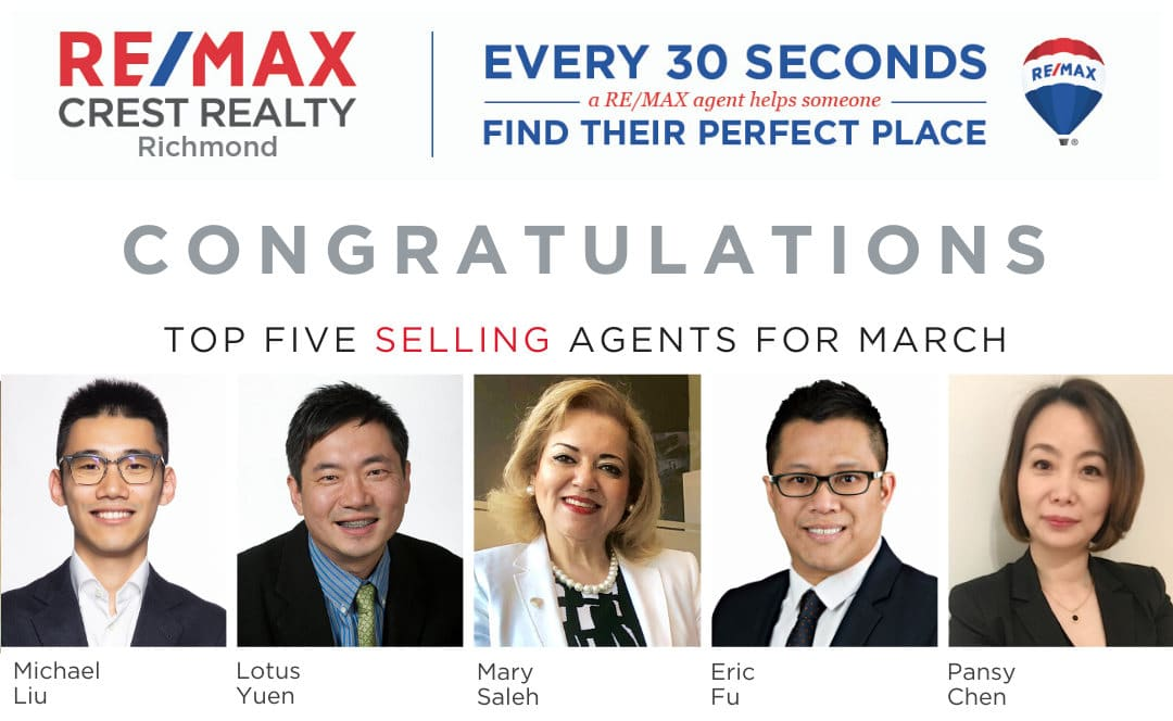 Top 5 Selling Real Estate Agent RE/MAX Crest Realty